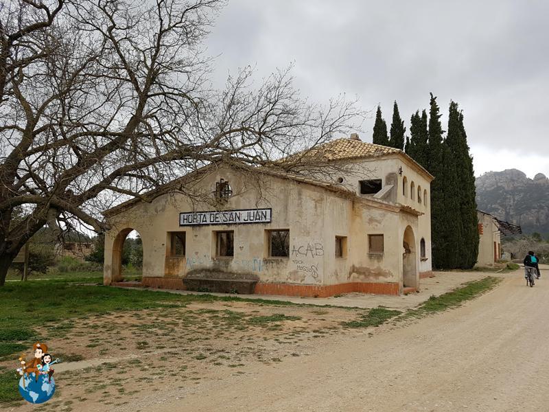 Antigua estación Horta de Sant Joan - Val de Zafán