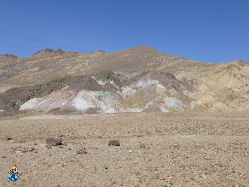 Artist's Drive en Parque Nacional de Death Valley
