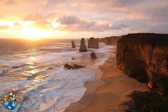 Los doce apostoles en la Great Ocean Road