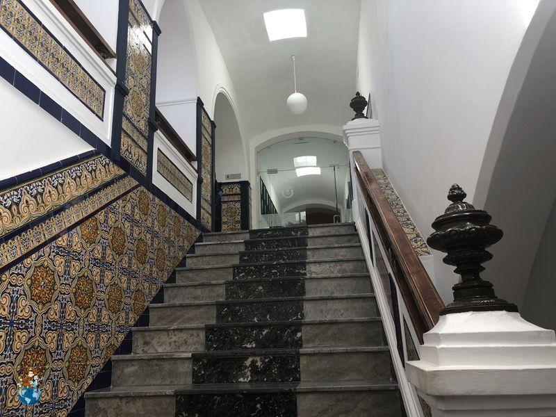Interior Ayuntamiento Olivenza