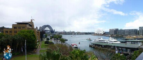 Vistas de la Bahía de Sydney - Australia