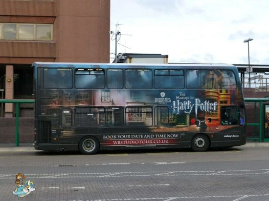 Bus desde Watford Junction hasta Warner Bros Studios