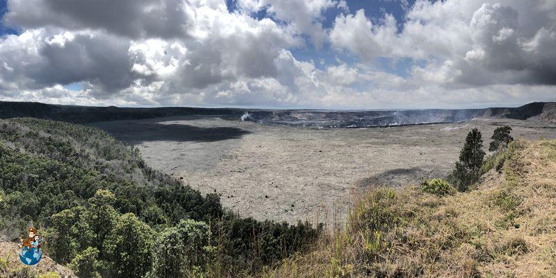 Caldera Volcán Kilauea en Big Island