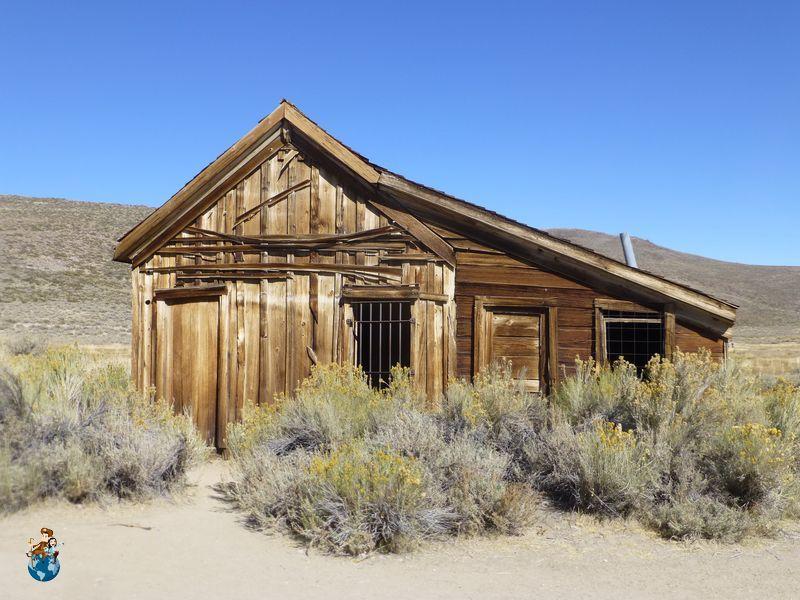 Antiguas viviendas de Bodie