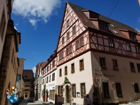 Callejeando por Rothenburg ob der Tauber