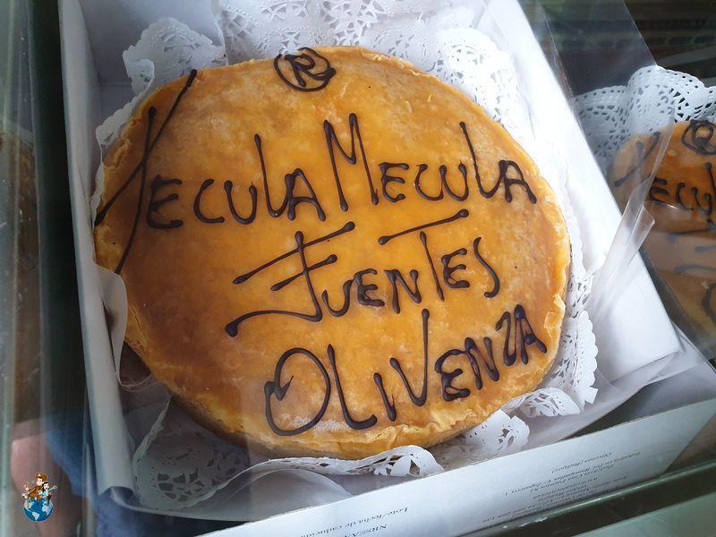 Técula Mécula de Casa Fuentes en Olivenza