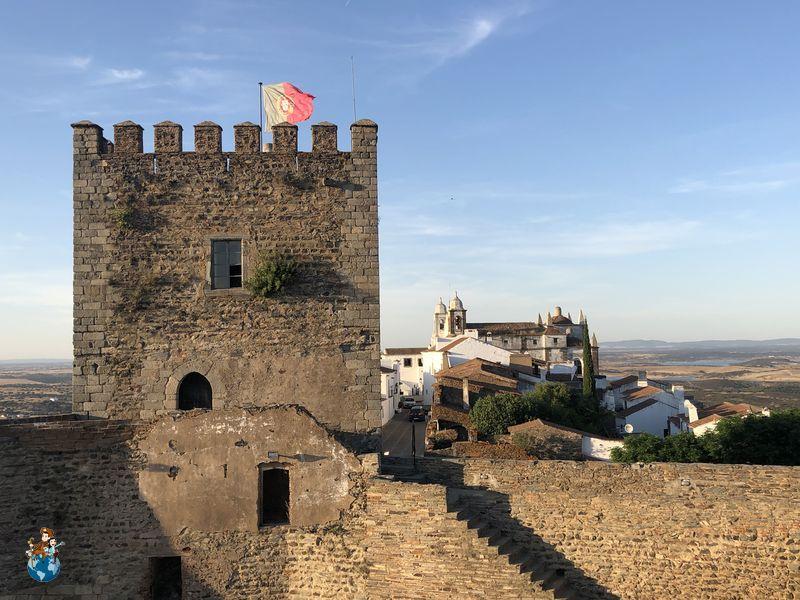 Torre del Homenaje en Castillo Monsaraz
