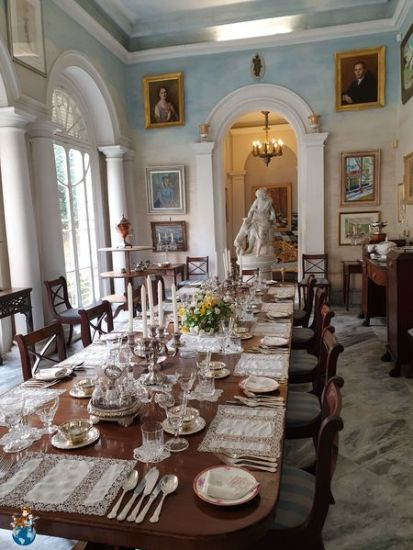 Comedor verano Casa Rocca Piccola