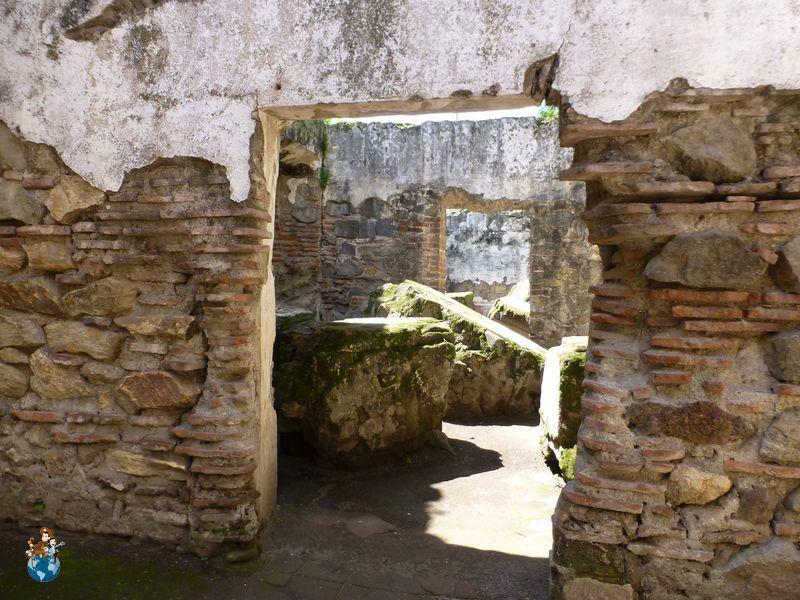 Convento San Jerónimo en Antigua Guatemala