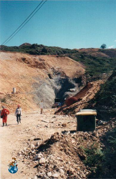Cueva del Soplao antes de abrirse al público