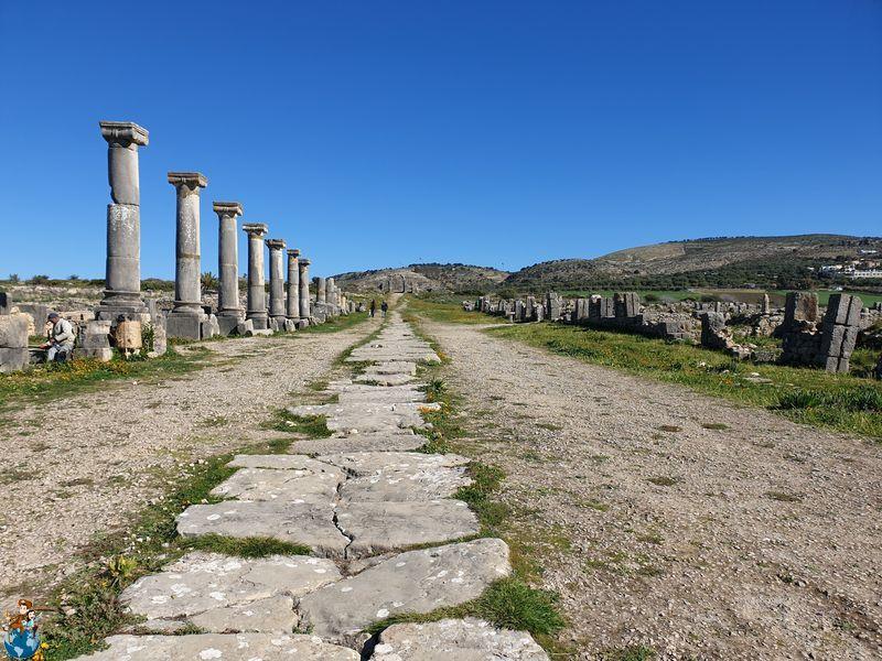 Decumanus Maximus - Volubilis