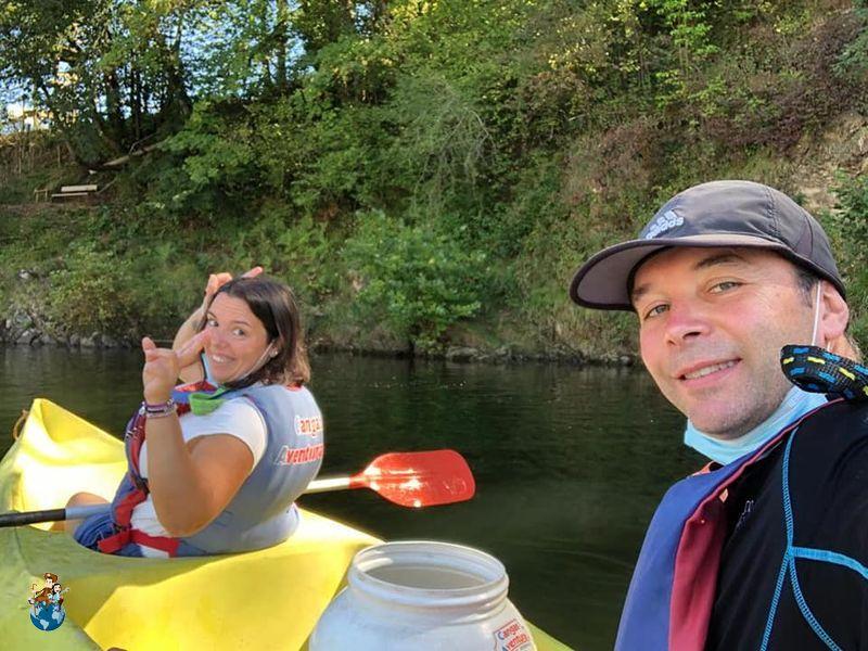Descenso del Río Sella en canoa