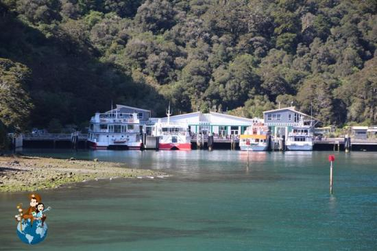 Muelle de Milford Sound