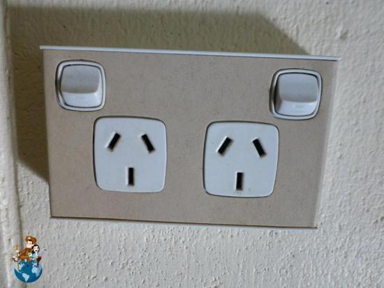 Electricidad y enchufes en Australia