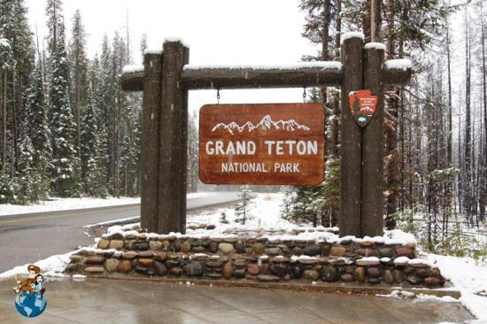 Entrada Parque Nacional Grand Teton