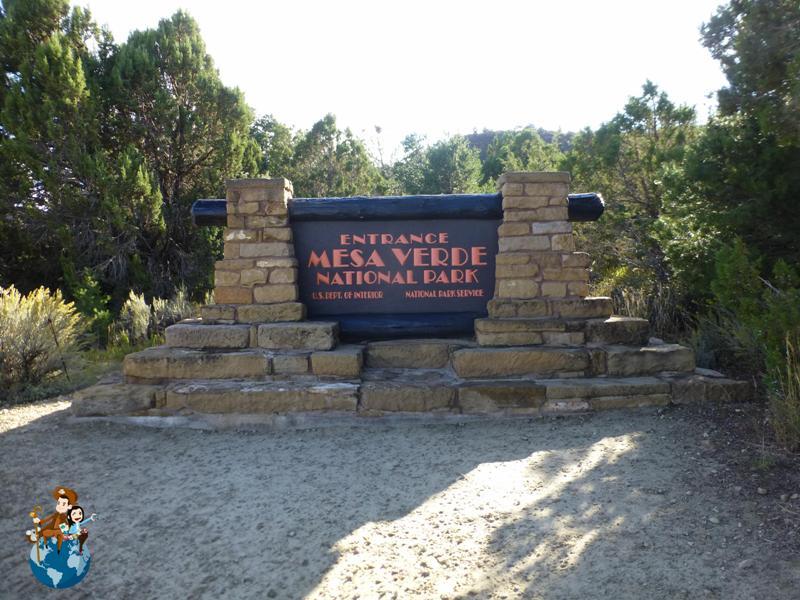 Entrada Parque Nacional Mesa Verde