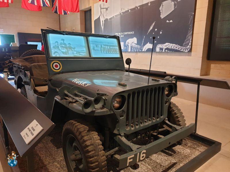 Museo de la Guerra en el Fuerte San Telmo - La Valeta