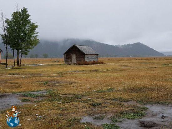 Mormon Row Historic District - Parque Nacional Grand Teton