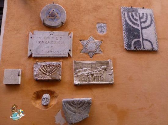 Barrio judío Roma