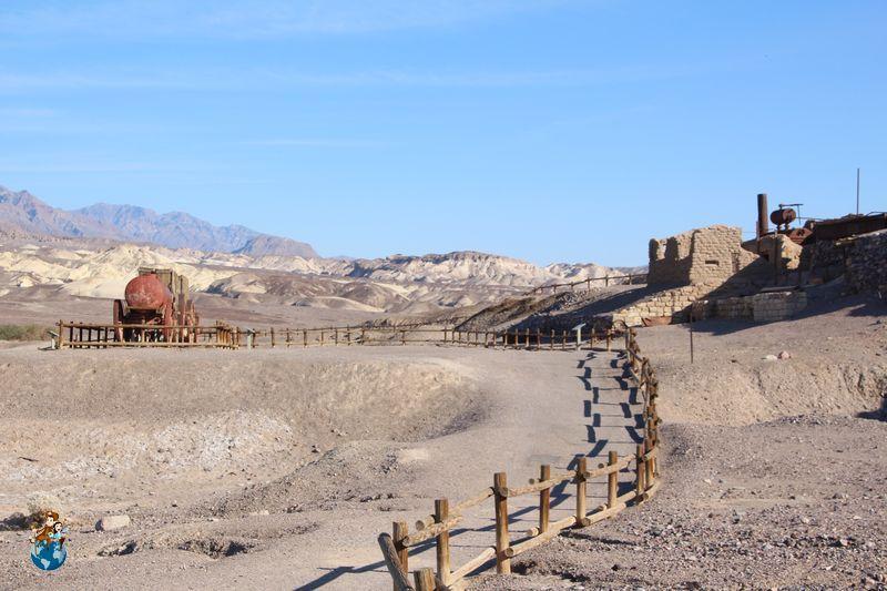 Harmony Borox Works en Death Valley