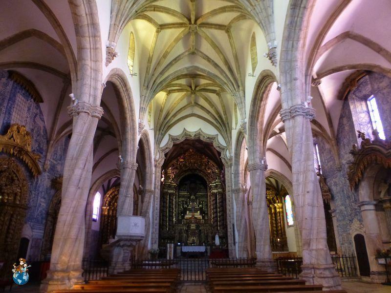 Interior Iglesia Santa Magdalena de Olivenza