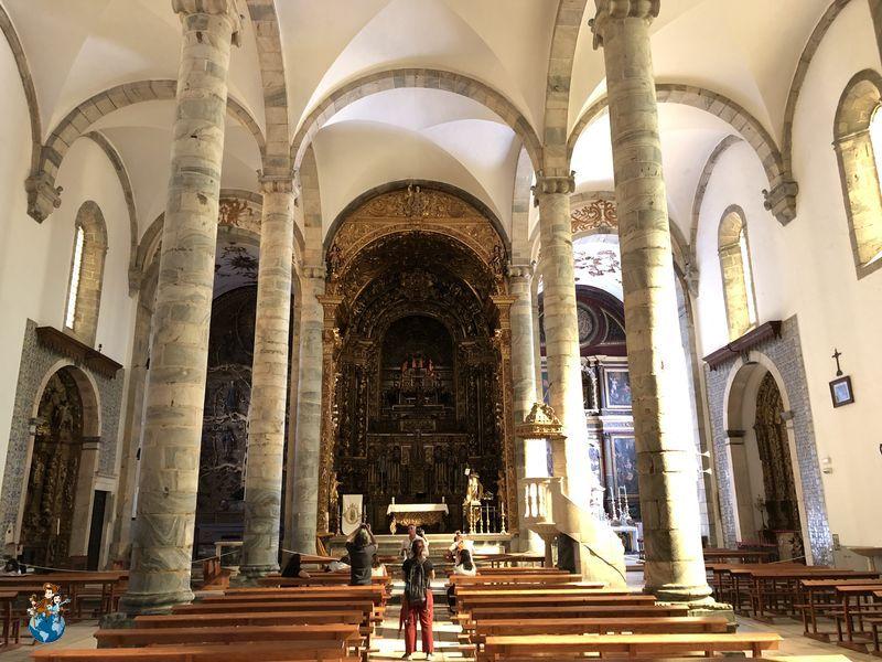 Interior Iglesia Santa María del Castillo - Olivenza