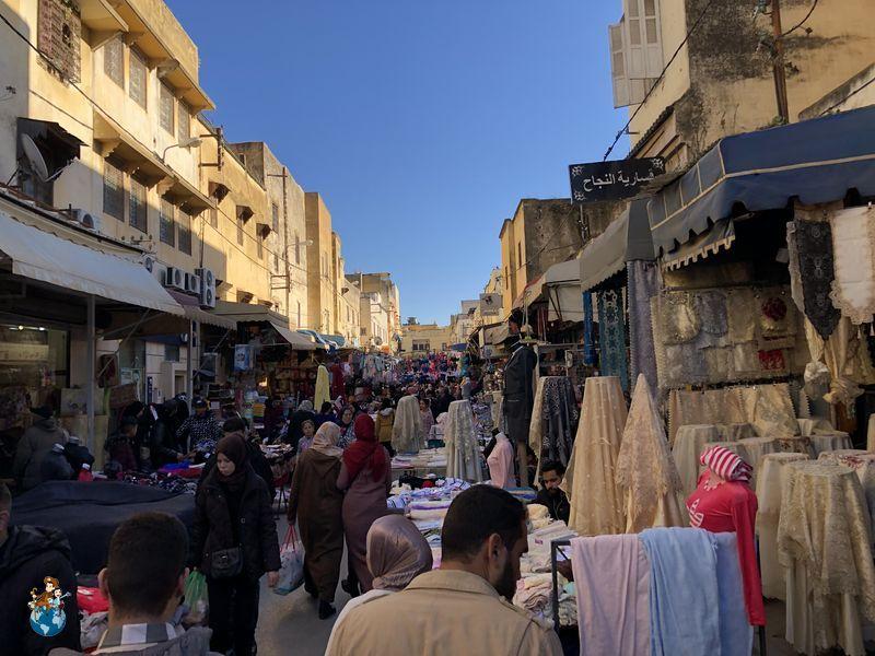 Mercadillo de Meknes