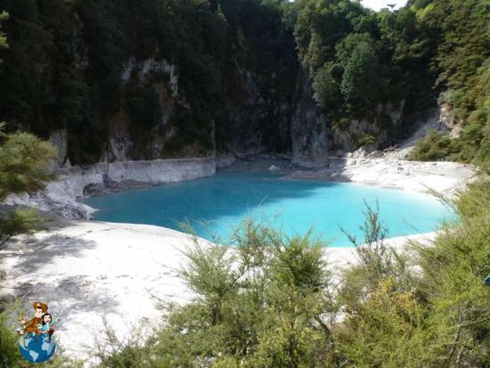 Cráter Inferno - Valle volcánico Waimangu