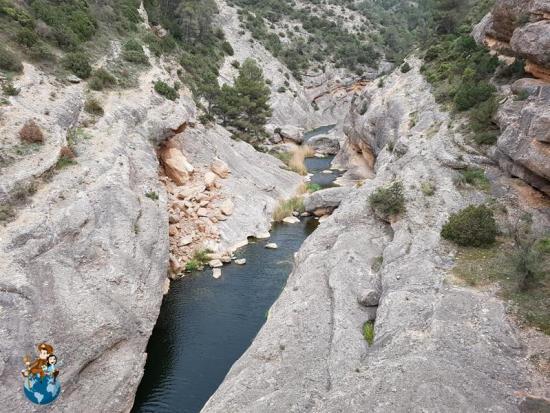 Río Canaletes - Ruta verde de Horta de Sant Joan a Benifallet