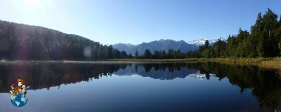 Lago Matheson - Nueva Zelanda