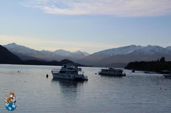 Atardecer en el Lago Wanaka