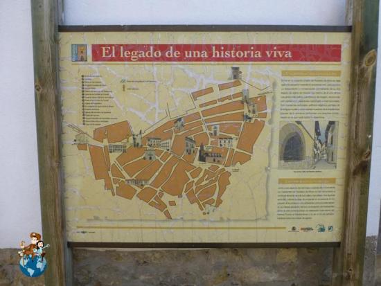 Mapa de Rubielos de Mora