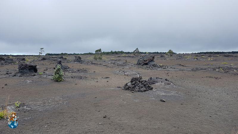 Pu'u Huluhulu Trail en el Parque Nacional de los Volcanes