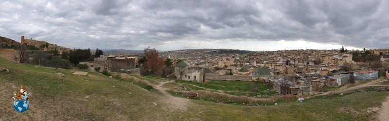 Vistas de la ciudad de Fez