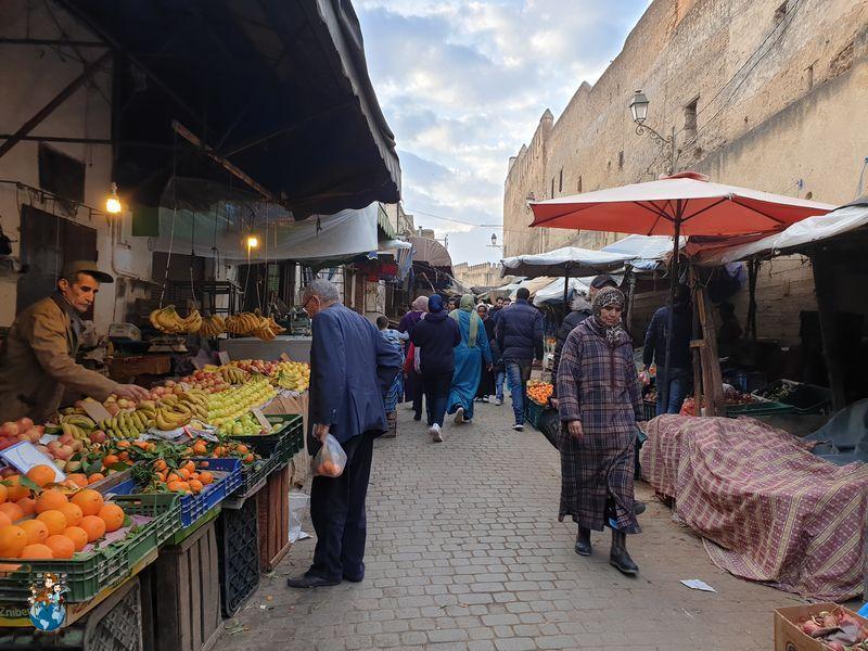 Mercado central de Fez