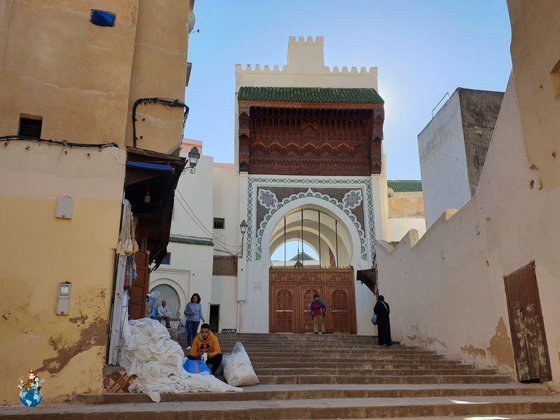 Barrio andaluz de Fez