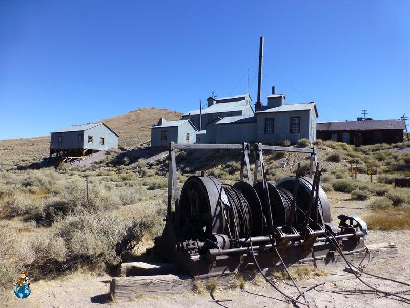 Antigua mina de Bodie