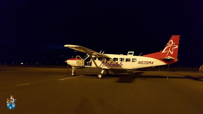 Avioneta de Mokulele Airlines - Big Island