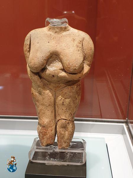 Venus de Malta en el Museo Arqueológico de La Valeta