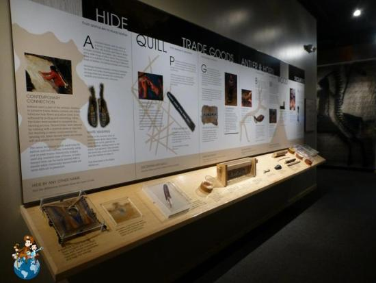 Colter Bay Visitor Center - American Indian Arts Exhibit