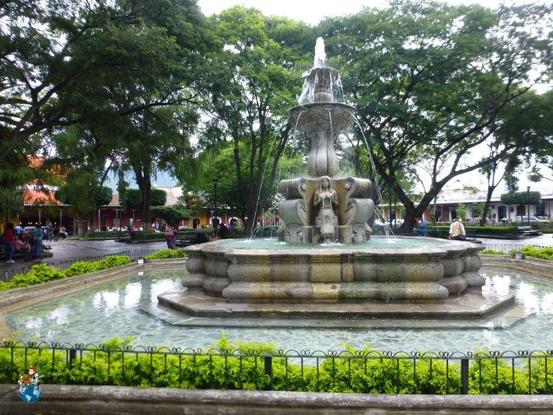 Fuente de las Sirenas en Antigua Guatemala
