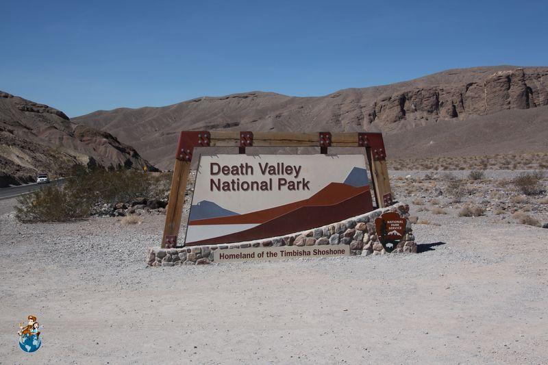 Entrada Parque Nacional de Death Valley