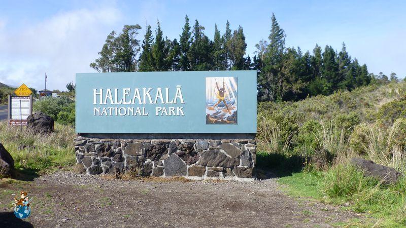 Entrada Parque Nacional deHaleakalā