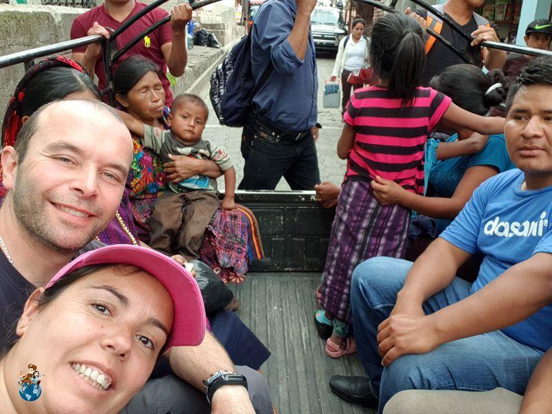 Pick ups en Guatemala