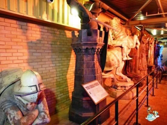 Piezas ajedrez utilizadas en Harry Potter y la Piedra filosofal