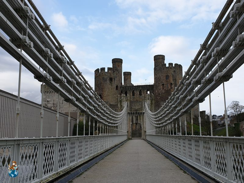 Puente colgante de Conwy