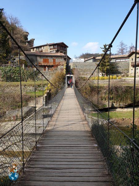 Puente colgante de Rupit