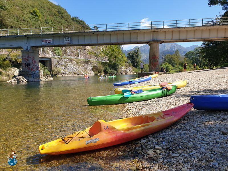 Puente de Toraño en el Río Sella