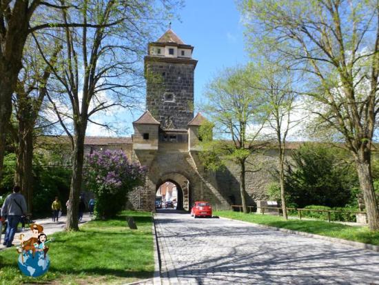 Puerta del Patíbulo - Rothenburg ob der Tauber