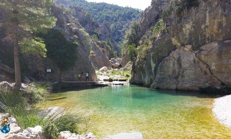 Ruta del Parrizal de Beceite en la Comarca de Matarraña (Teruel)